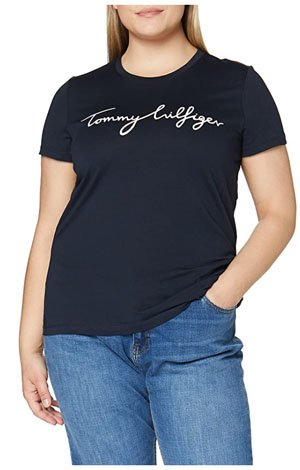 camiseta-mujer-tommy-hilfiger-graphic-tee